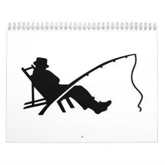 El dormir de la barra de Fisher Calendario