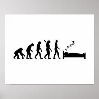 El dormir de la evolución póster
