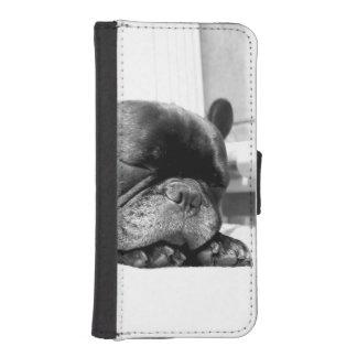 El dormir de los dogos franceses fundas tipo billetera para iPhone 5