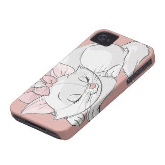 El dormir de Marie iPhone 4 Case-Mate Protectores