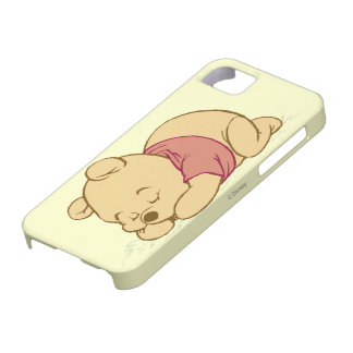 El dormir de Winnie the Pooh iPhone 5 Coberturas