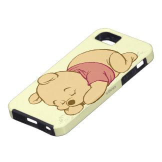 El dormir de Winnie the Pooh iPhone 5 Case-Mate Protector