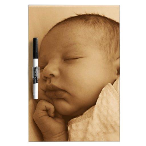 El dormir del bebé pizarras blancas de calidad
