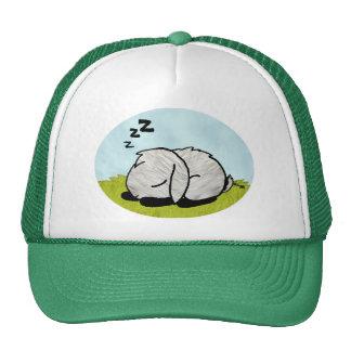 El dormir del conejito gorros bordados