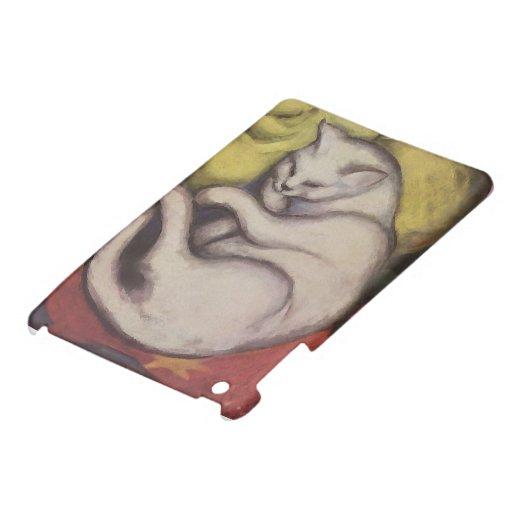 El dormir del gato del vintage iPad mini cárcasas