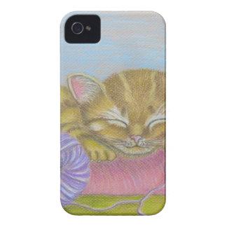 el dormir del gato funda para iPhone 4 de Case-Mate