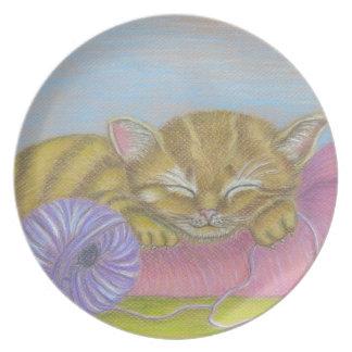el dormir del gato platos