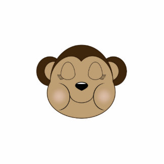 El dormir del mono adorno fotoescultura