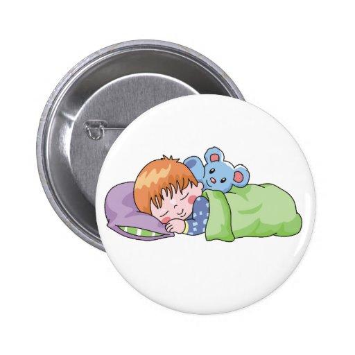 El dormir del muchacho pin redondo 5 cm