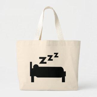 el dormir del zzz del sleepyhead bolsa tela grande