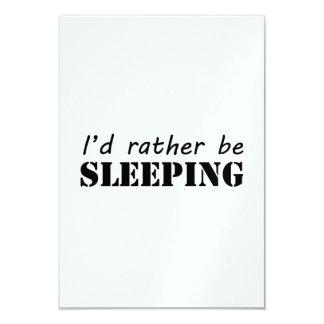 El dormir invitaciones personalizada