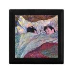 El dormir por Toulouse-Lautrec Cajas De Regalo