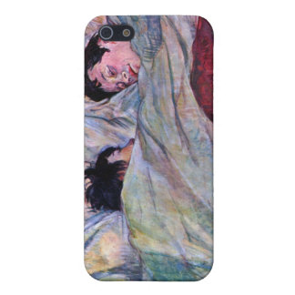 El dormir por Toulouse-Lautrec iPhone 5 Funda