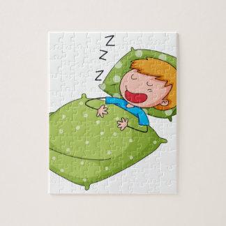 El dormir rompecabeza
