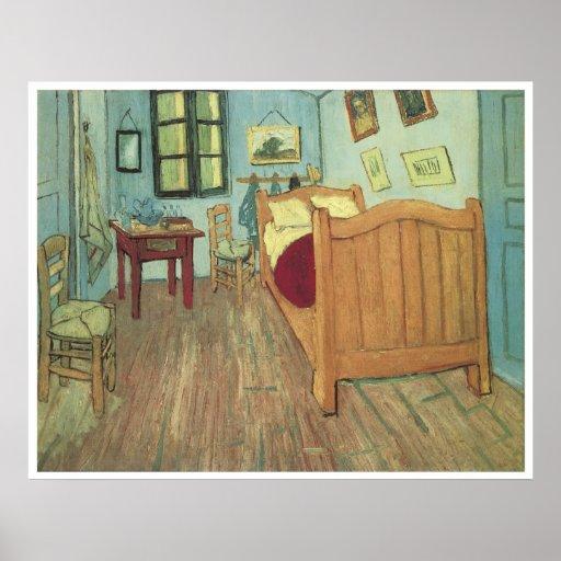 El dormitorio 1888, Vincent van Gogh de Van Gogh Impresiones