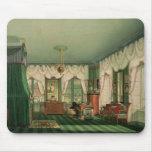 El dormitorio de Elizabeth de Baviera Alfombrillas De Raton