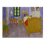El dormitorio de Van Gogh en Arles, 1889 Postal