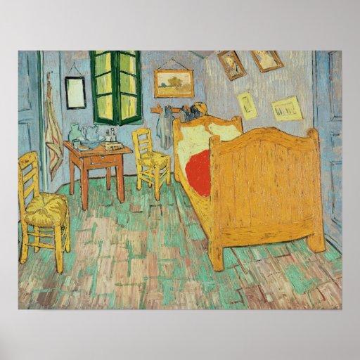 El dormitorio de Van Gogh en Arles, 1889 Poster