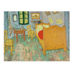 El dormitorio de Van Gogh en Arles, 1889 Tarjeta Postal
