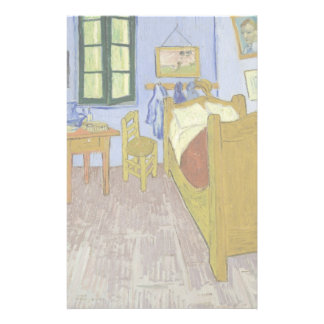 El dormitorio de Van Gogh en Arles de Vincent van  Tarjeta Publicitaria