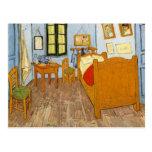 El dormitorio de Van Gogh Tarjetas Postales