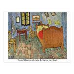 El dormitorio de Vincent en Arles de Vincent van G Tarjeta Postal