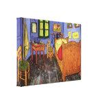 El dormitorio de Vincent en Arles de Vincent van Lona Envuelta Para Galerias