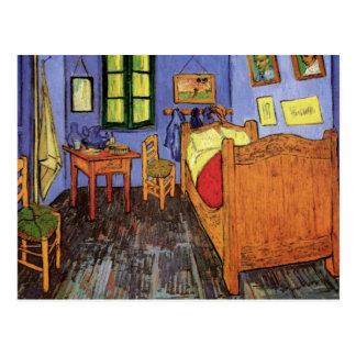 El dormitorio de Vincent en Arles de Vincent van Tarjeta Postal