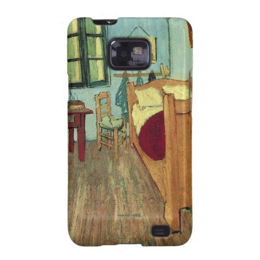 El dormitorio de Vincent en Arles Samsung Galaxy S2 Carcasa