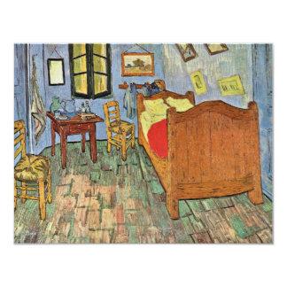 """El dormitorio de Vincent en Arles, por Vincent van Invitación 4.25"""" X 5.5"""""""