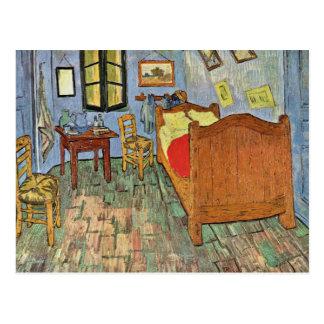 El dormitorio de Vincent en Arles, por Vincent van Tarjetas Postales