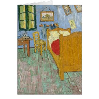 El dormitorio de Vincent en Arles Tarjeta De Felicitación