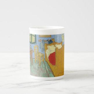El dormitorio de Vincent en Arles Taza De China