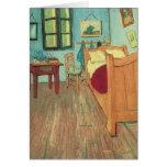 El dormitorio de Vincent en Arles, Van Gogh, arte  Tarjeton