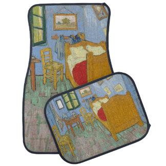 El dormitorio de Vincent van Gogh Alfombrilla De Coche