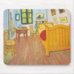 El dormitorio de Vincent van Gogh en Arles Tapete De Ratón
