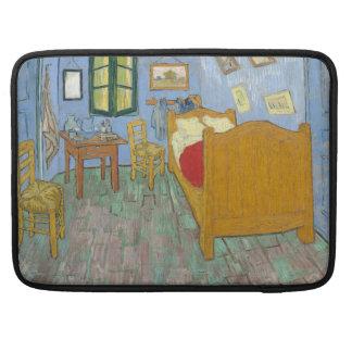 El dormitorio de Vincent van Gogh Fundas Para Macbook Pro