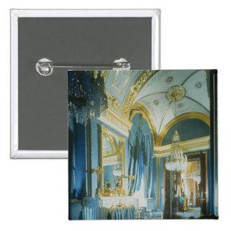El dormitorio del Tsar en los apartamentos privado Pin Cuadrada 5 Cm