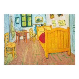 El dormitorio en Arles. Santo-Remy de Van Gogh Invitación