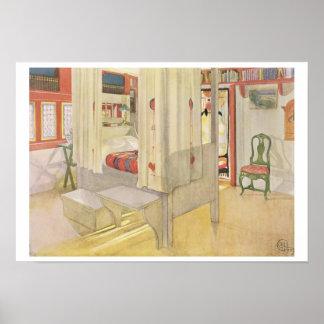"""El dormitorio, publicado en """"Lasst Licht Hinin"""", 1 Posters"""