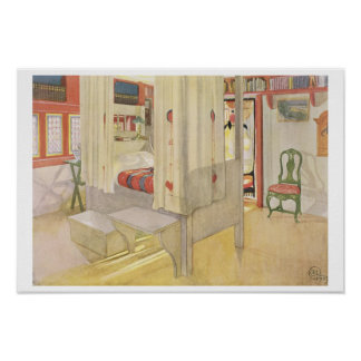 """El dormitorio, publicado en """"Lasst Licht Hinin"""", 1 Póster"""