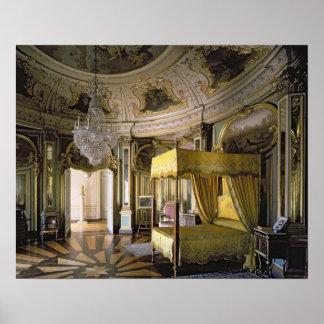 El dormitorio real en el Pasillo del Don Quijote Poster