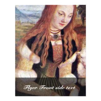 El Dorothea santo por Cranach D. Ä. Lucas (el mejo Tarjeta Publicitaria