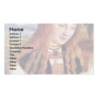 El Dorothea santo por Cranach D. Ä. Lucas (el mejo Tarjetas De Visita