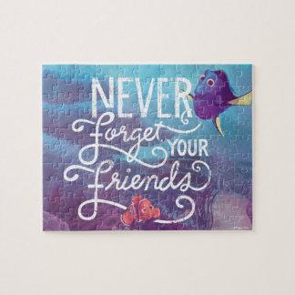 El Dory y Nemo el | nunca olvidan a sus amigos Puzzles Con Fotos