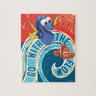 El Dory y Nemo el | van con el flujo Puzzle