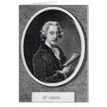 El Dr. Arne, grabada para 'el universal Tarjeton