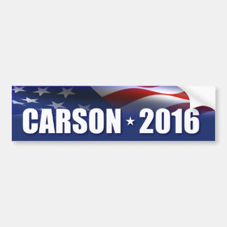 El Dr. Ben Carson para el presidente Pegatina Para Auto