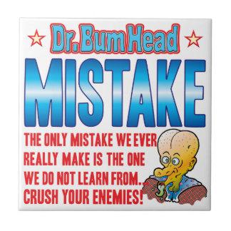El Dr. Bum Head del ERROR Tejas