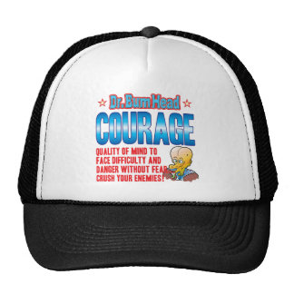 El Dr. Bum Head del VALOR Gorra